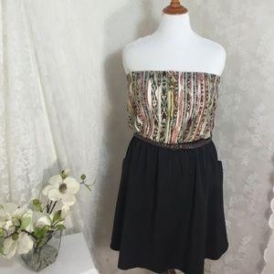 COC Strapless Tube Top Dress W/Pockets NWT!